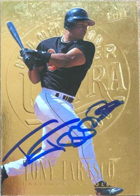 Tony Tarasco Autographed 1996 Fleer Ultra Gold Medallion #310