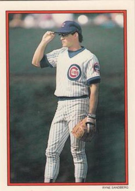 1990 Topps Glossy Send-Ins #1 Ryne Sandberg NM-MT Chicago Cubs