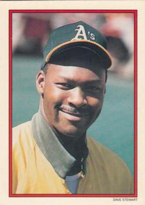 1990 Topps Glossy Send-Ins #4 Dave Stewart NM-MT Oakland Athletics