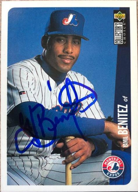 Yamil Benitez Autographed 1996 Collectors Choice #613