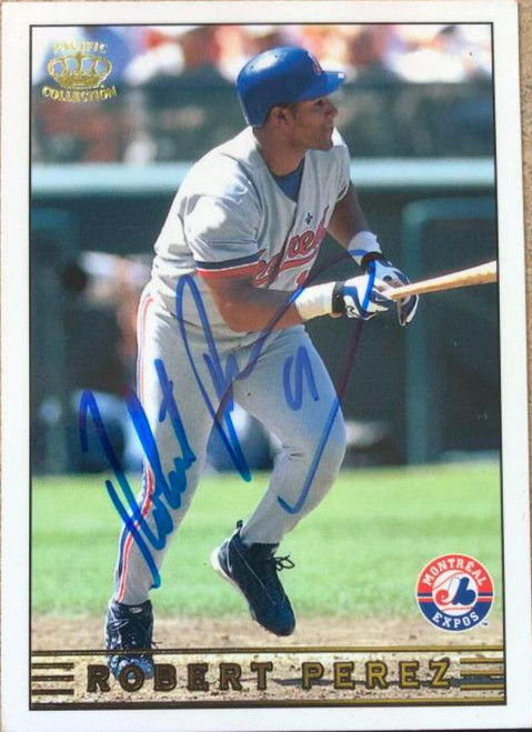 Robert Perez Autographed 1999 Pacific Crown Collection #172