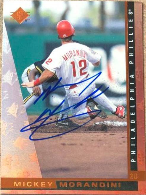 Mickey Morandini Autographed 1997 SP #139
