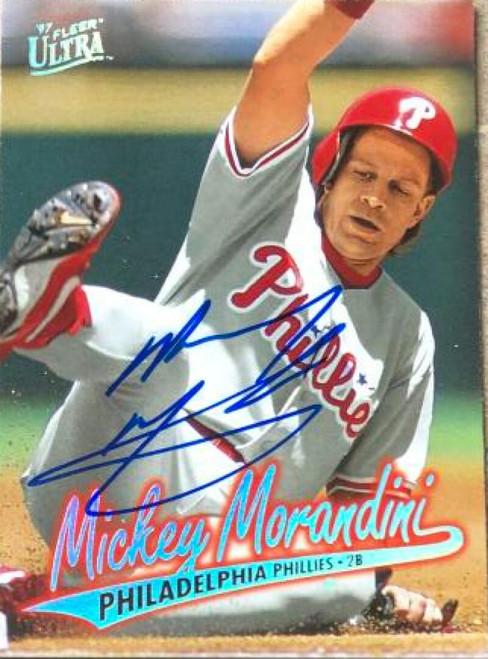 Mickey Morandini Autographed 1997 Fleer Ultra #253