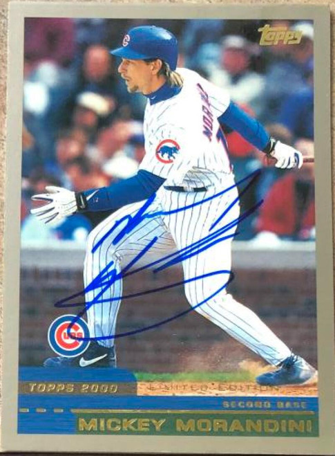 Mickey Morandini Autographed 2000 Topps Limited #106