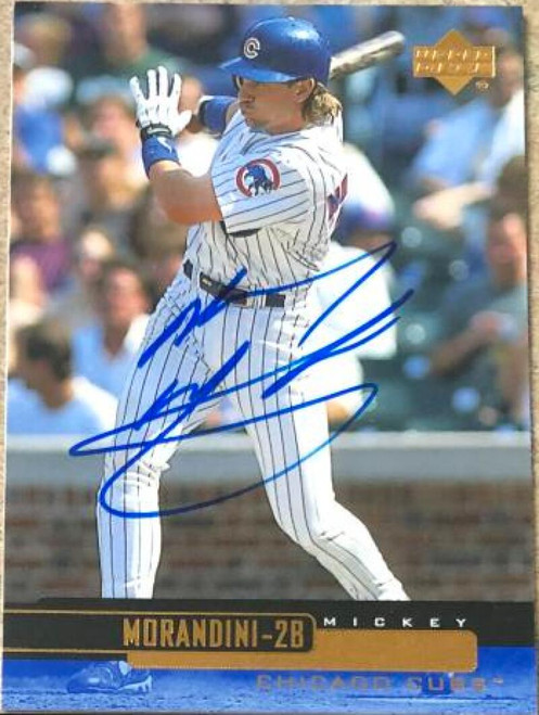 Mickey Morandini Autographed 2000 Upper Deck #73