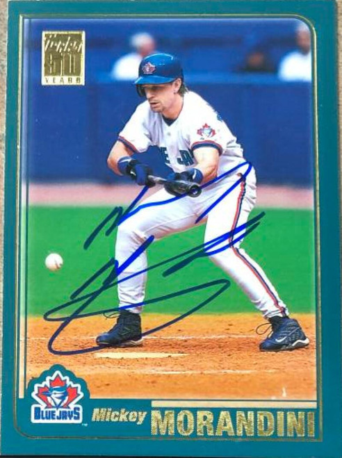 Mickey Morandini Autographed 2001 Topps #418