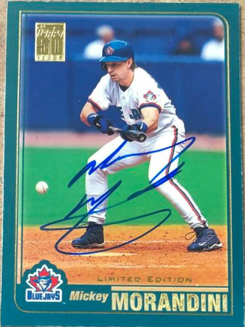 Mickey Morandini Autographed 2001 Topps Limited #418