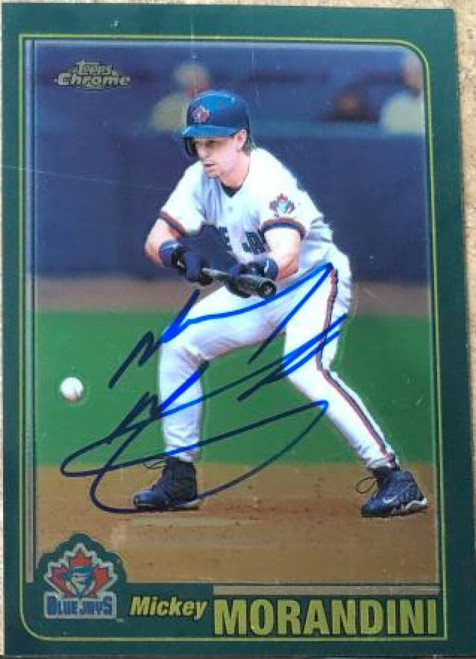 Mickey Morandini Autographed 2001 Topps Chrome #385