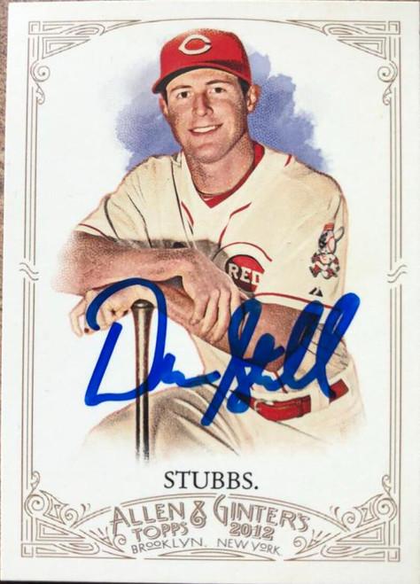 Drew Stubbs Autographed 2012 Topps Allen & Ginter #13