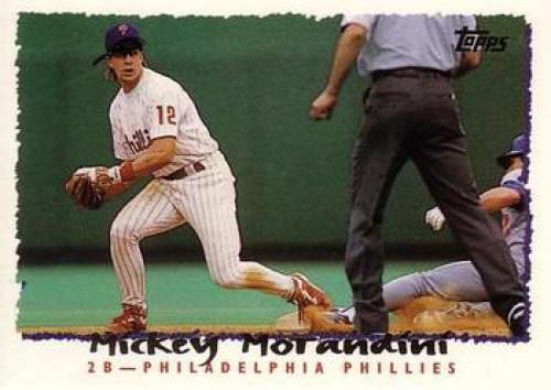 1995 Topps #2 Mickey Morandini VG  Philadelphia Phillies