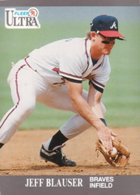 1991 Ultra #2 Jeff Blauser VG Atlanta Braves