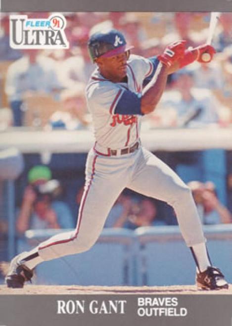 1991 Ultra #4 Ron Gant VG Atlanta Braves