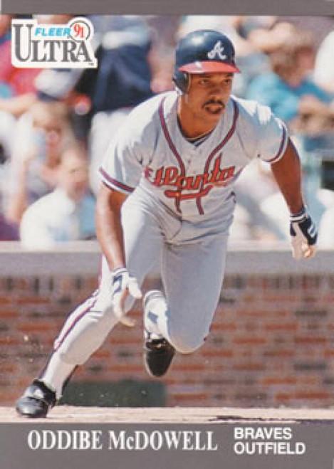 1991 Ultra #8 Oddibe McDowell VG Atlanta Braves