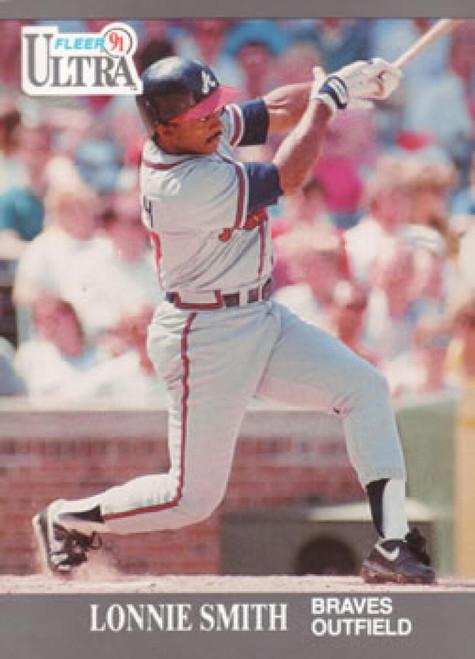 1991 Ultra #11 Lonnie Smith VG Atlanta Braves