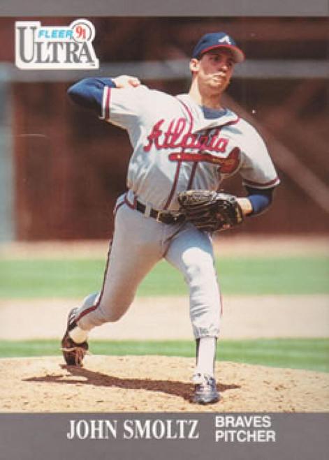 1991 Ultra #12 John Smoltz VG Atlanta Braves