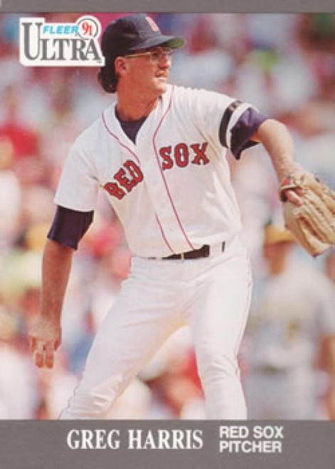 1991 Ultra #33 Greg Harris VG Boston Red Sox