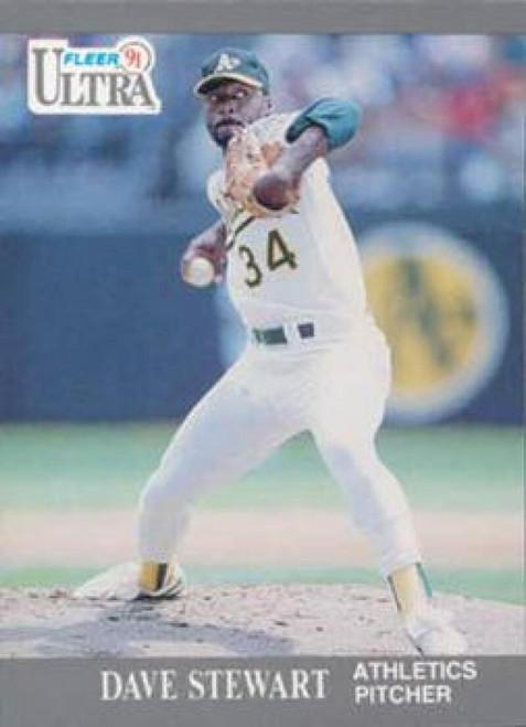1991 Ultra #254 Dave Stewart VG Oakland Athletics