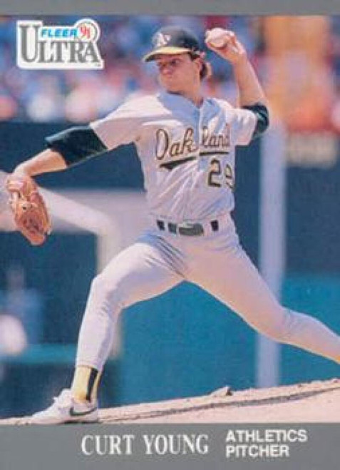 1991 Ultra #257 Curt Young VG Oakland Athletics