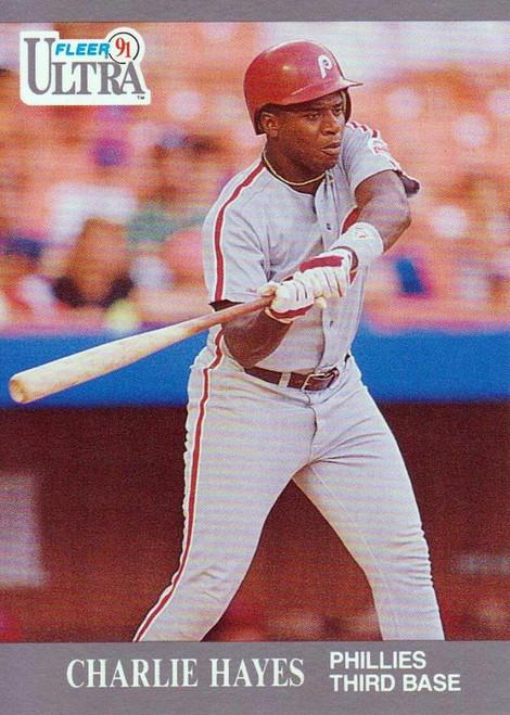 1991 Ultra #263 Charlie Hayes VG Philadelphia Phillies