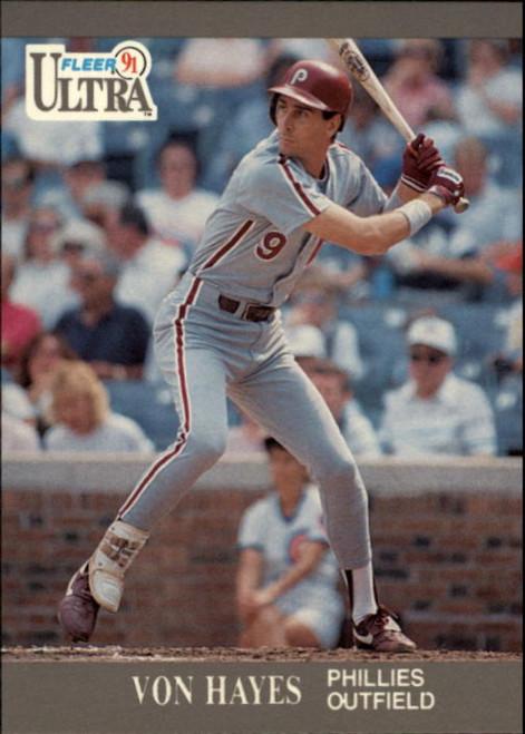 1991 Ultra #264 Von Hayes VG Philadelphia Phillies