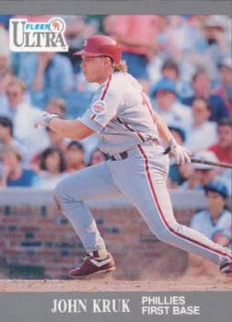 1991 Ultra #266 John Kruk VG Philadelphia Phillies