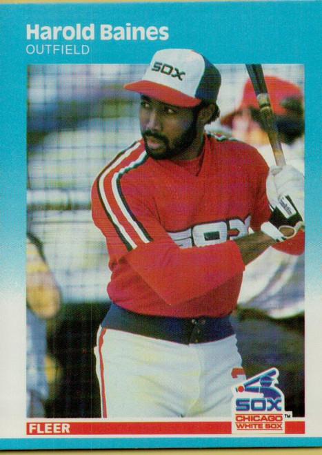 1987 Fleer #485 Harold Baines NM Chicago White Sox
