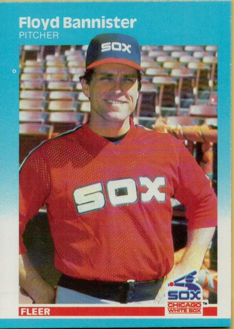 1987 Fleer #486 Floyd Bannister NM Chicago White Sox