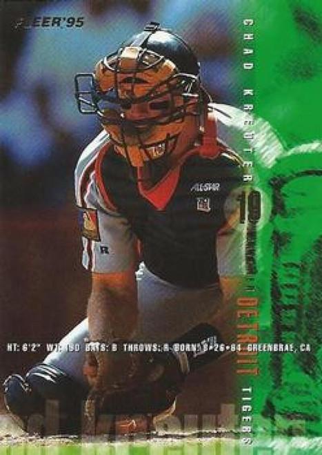 1995 Fleer #57 Chad Kreuter VG Detroit Tigers