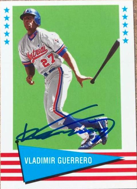 Vladimir Guerrero Autographed 1999 Fleer Tradition Vintage '61 #20
