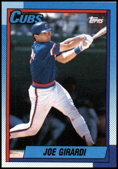 1990 Topps #12 Joe Girardi VG Chicago Cubs