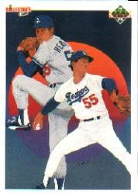 1990 Upper Deck #10 Orel Hershiser TC VG Los Angeles Dodgers