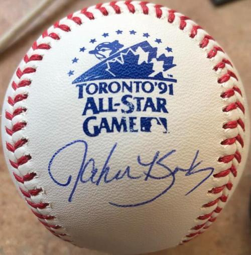 John Kruk Autographed 1991 All-Star Game Baseball