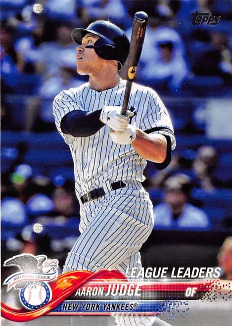 2018 Topps #111 Aaron Judge NM-MT New York Yankees