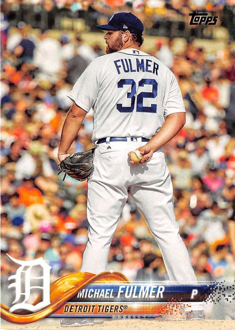 2018 Topps #145 Michael Fulmer NM-MT Detroit Tigers