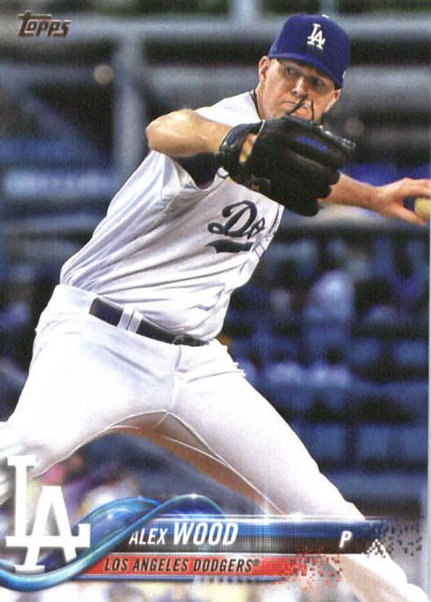 2018 Topps #65 Alex Wood NM-MT Los Angeles Dodgers