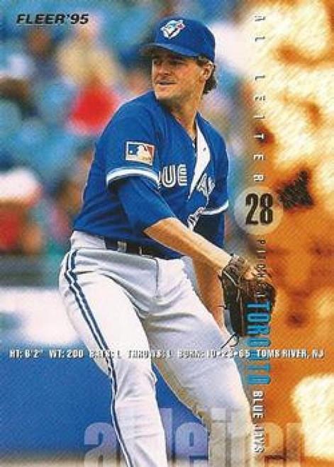 1995 Fleer #100 Al Leiter VG Toronto Blue Jays