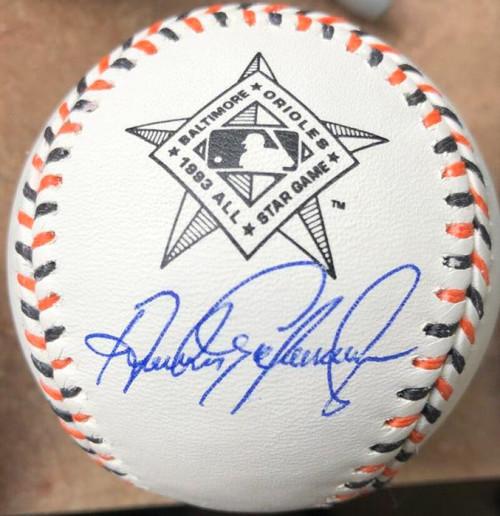 Andres Galarraga Autographed 1993 All-Star Game Baseball