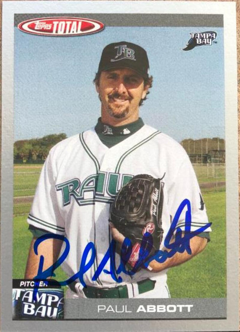 Paul Abbott Autographed 2004 Topps Total-Silver #669