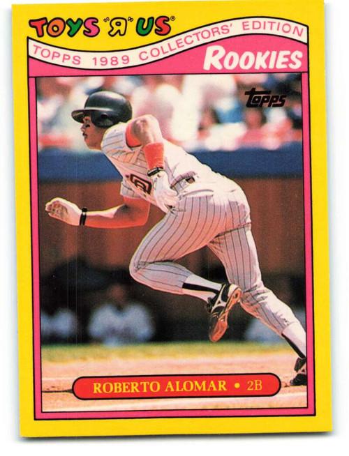 1989 Topps Toys R Us Rookies #1 Roberto Alomar NM-MT  San Diego Padres