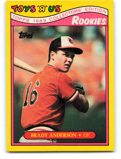 1989 Topps Toys R Us Rookies #2 Brady Anderson NM-MT  Baltimore Orioles