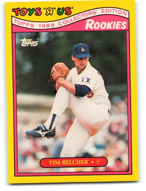 1989 Topps Toys R Us Rookies #3 Tim Belcher NM-MT  Los Angeles Dodgers