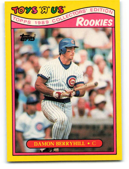 1989 Topps Toys R Us Rookies #4 Damon Berryhill NM-MT  Chicago Cubs