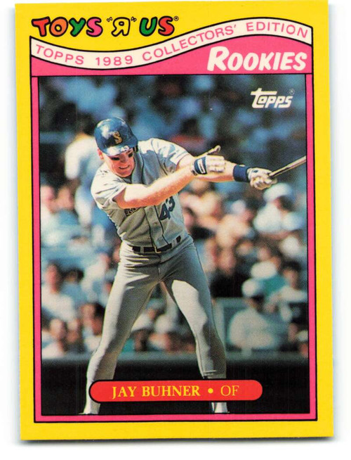 1989 Topps Toys R Us Rookies #5 Jay Buhner NM-MT  Seattle Mariners