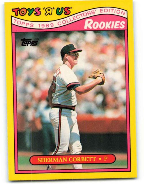 1989 Topps Toys R Us Rookies #6 Sherman Corbett NM-MT  California Angels