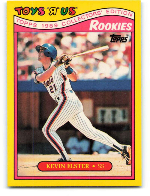 1989 Topps Toys R Us Rookies #7 Kevin Elster NM-MT  New York Mets