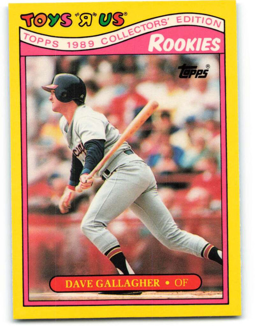 1989 Topps Toys R Us Rookies #9 Dave Gallagher NM-MT  Chicago White Sox