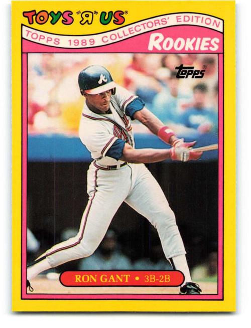1989 Topps Toys R Us Rookies #10 Ron Gant NM-MT  Atlanta Braves
