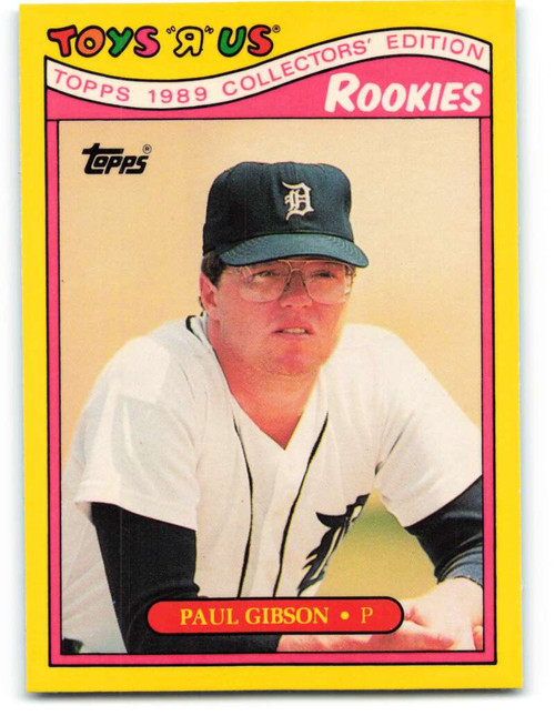 1989 Topps Toys R Us Rookies #11 Paul Gibson NM-MT  Detroit Tigers