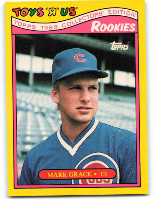 1989 Topps Toys R Us Rookies #12 Mark Grace NM-MT  Chicago Cubs