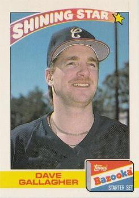 1989 Topps Bazooka #8 Dave Gallagher NM-MT Chicago White Sox